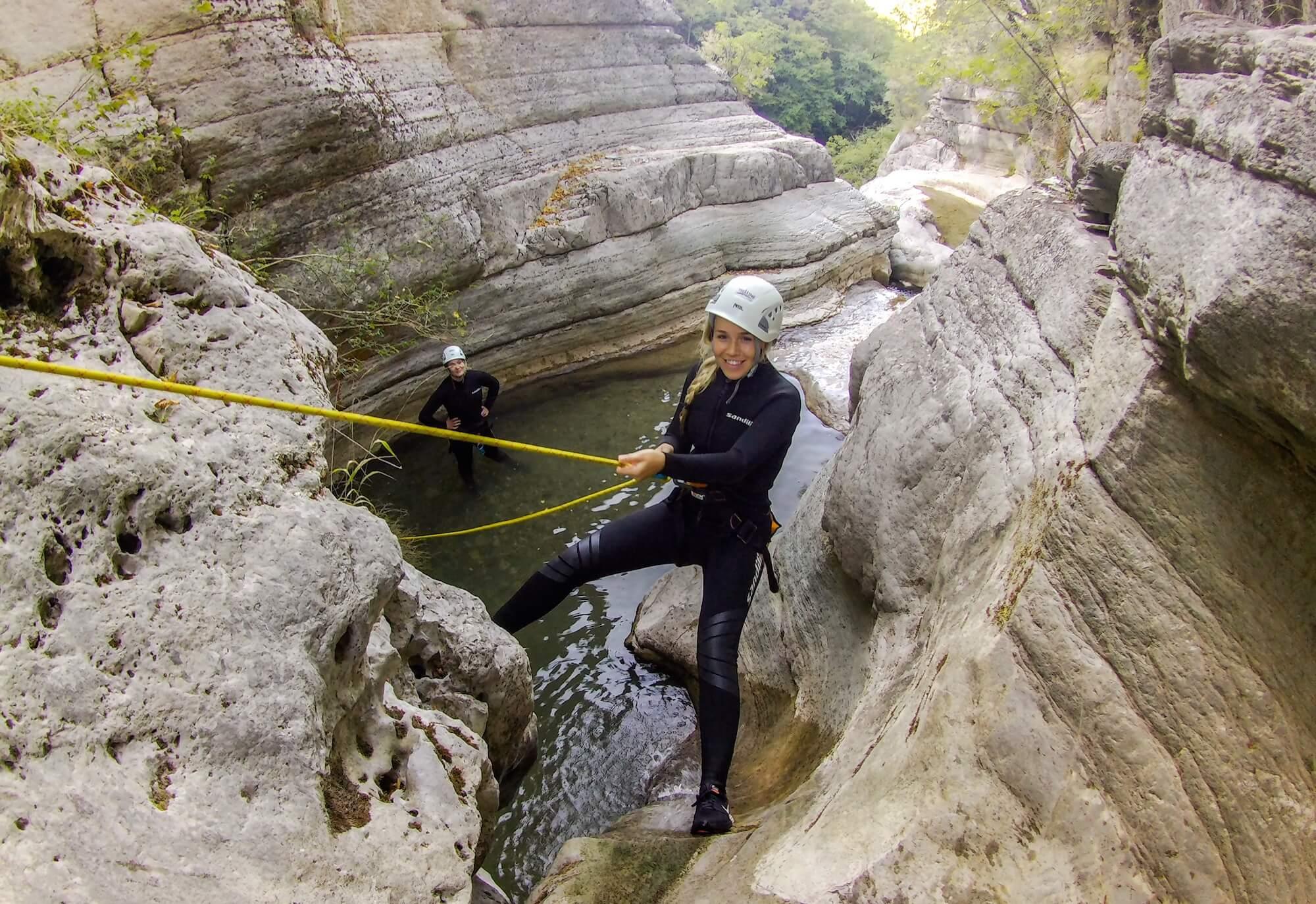 canyoning hellas