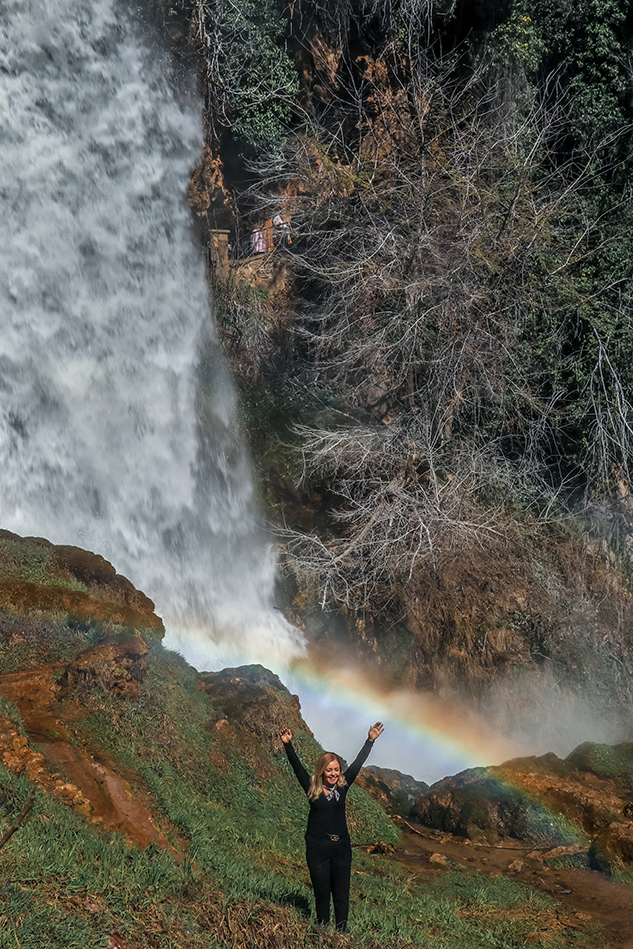 waterval in Edessa