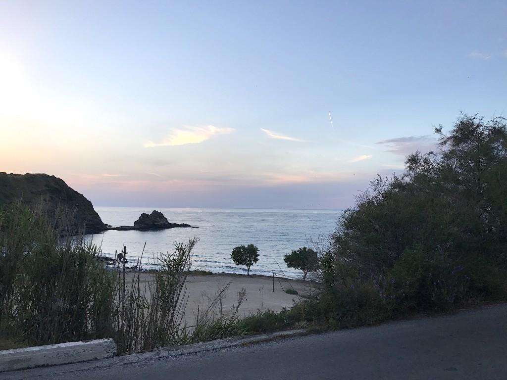 ikaria-ondergaande-zon