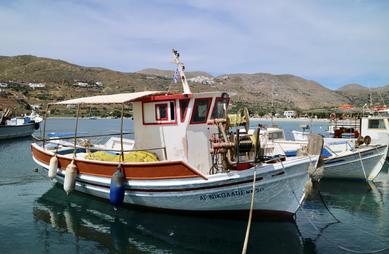 Amorgos- boot