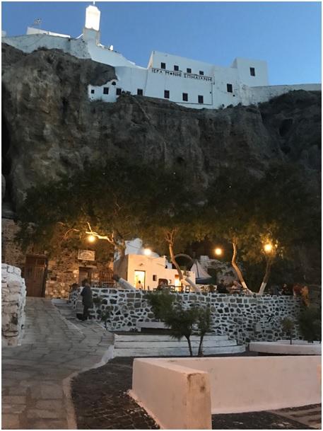 Nisyros Spiliani kerk