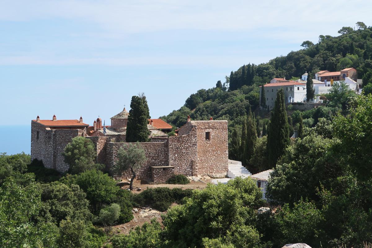 Skopelos-monastery