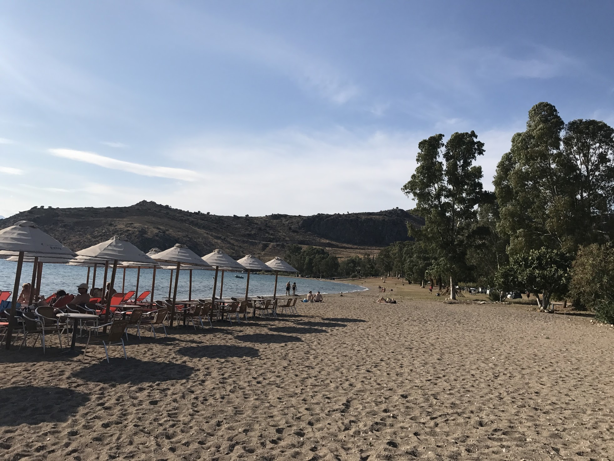 Strand bij Nafpoli