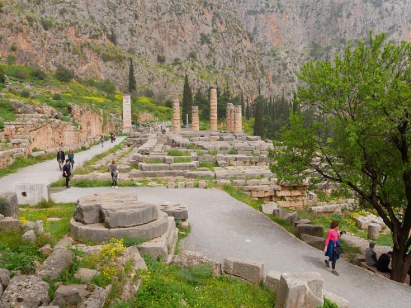 Delphi-archeologische ruimte