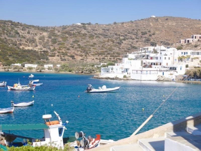Sifnos bij de kust