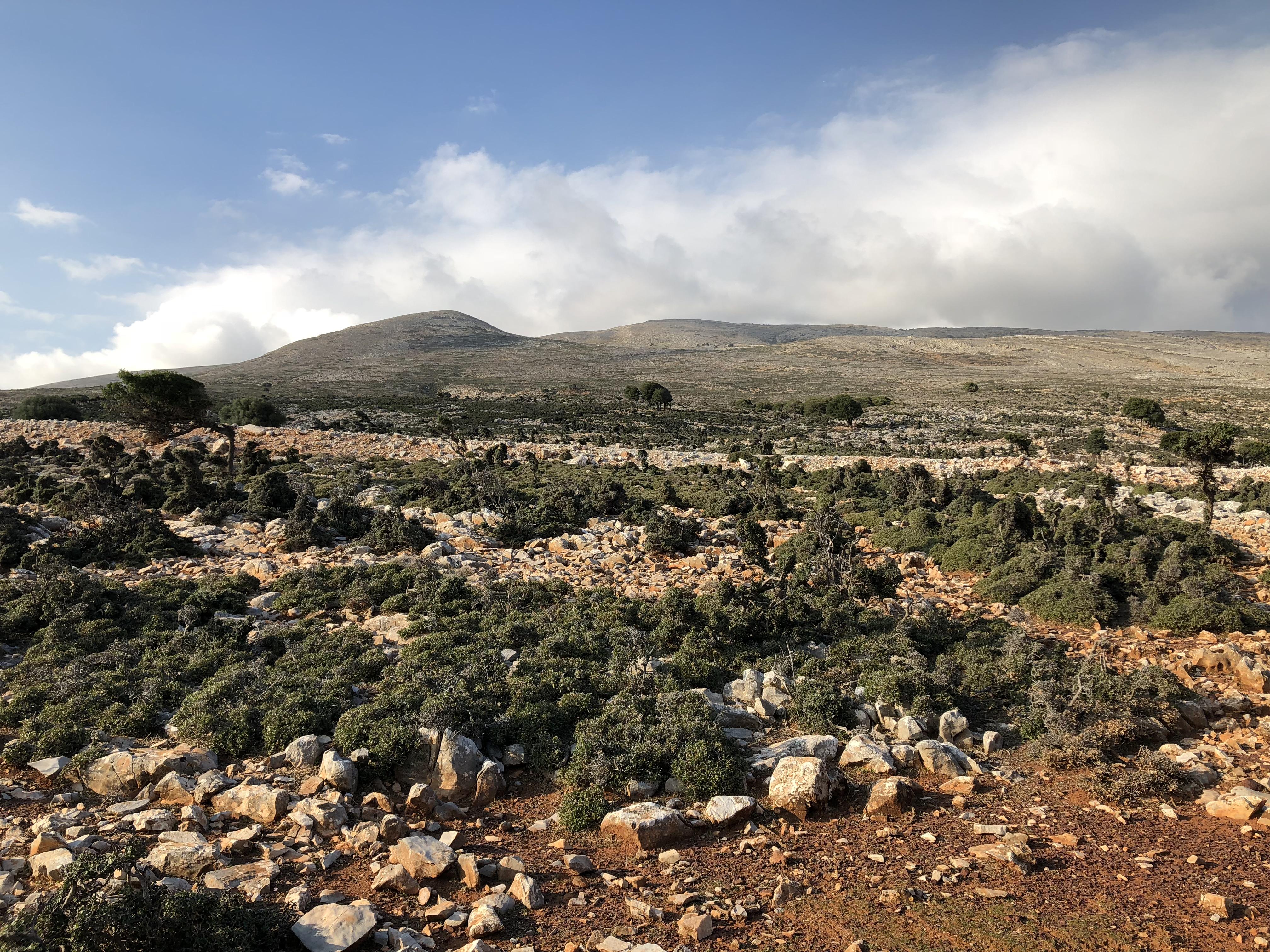 zuidelijk deel van skyros